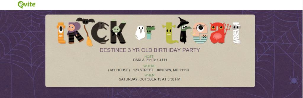 Free invites from evites
