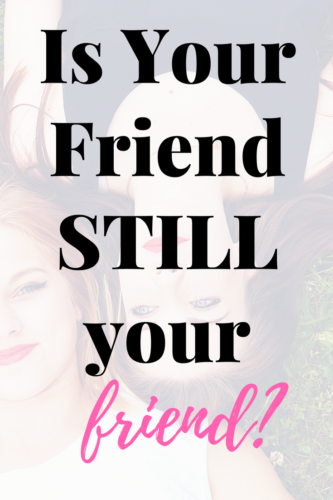 Understanding when its time to let your friend go . Read 5 ways you know when its time to let