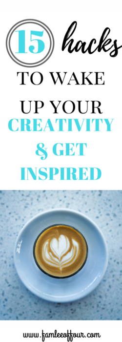 Need inspiration and motivation in your life? Click through to get the best tips to get your creative juices flowing #getinspired
