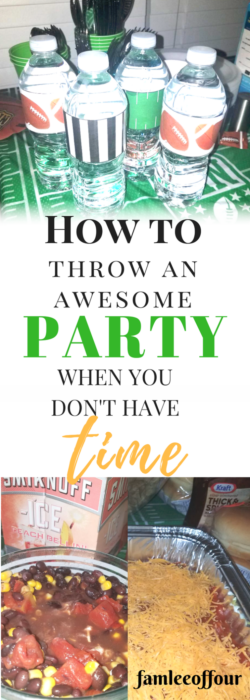 Do you absolutely love having parties but don't have the time to plan? Sometime time is not on your side but with the help of a party planner everything become easier. You can get everything you need to get done with in 3 days. #party #partyplanning #graduationparty