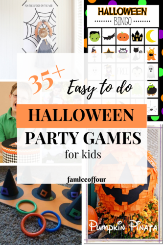Great Halloween games for kids when you looking to throw an amazing halloween party.