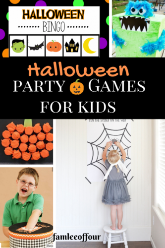 Playing a Halloween Party but time is not on your side? Check out these easy to do or recreate halloween games for kids!