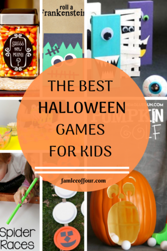 Halloween Party games for Kids that are simple and easy to create!